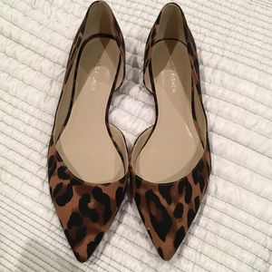 Marc Fisher Shoes - Marc Fisher Anny Leopard Flats SZ 9